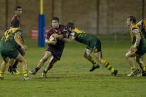luke Smith in action