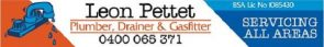 Leon Pettet Plumbing